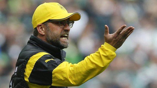 Trenér Borussie Dortmund Jürgen Klopp.