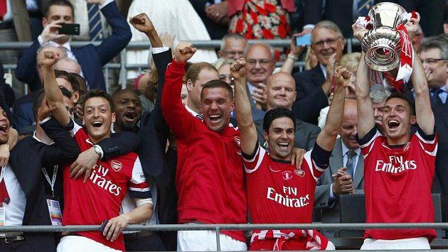Vítězové FA Cupu z Arsenalu mají staronovou posilu - ilustrační fotografie.
