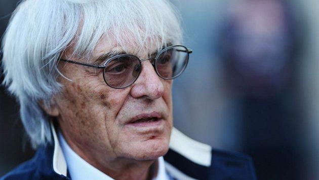 Hlavní promotér F1 Bernie Ecclestone.