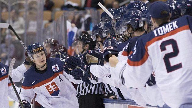 Ojedinělá radost slovenského týmu na MS dvacítek v Kanadě.