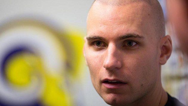 Švédský útočník Rickard Palmberg, nová posila hokejistů Zlína.