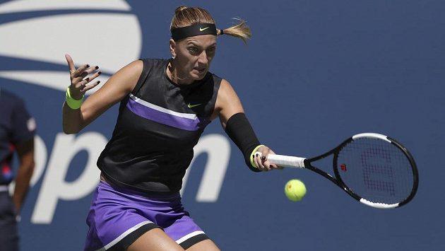 Česká tenistka Petra Kvitová ve druhém kole US Open.