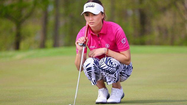 Klára Spilková, česká golfová jednička.