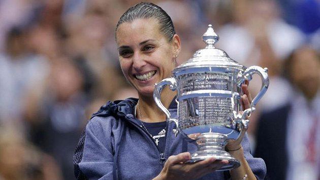 Flavia Pennettaová krátce po triumfu na US Open ukončila kariéru.