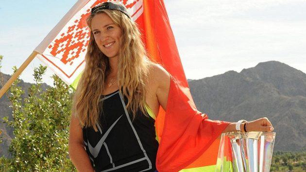Běloruská tenistka Victoria Azarenková.