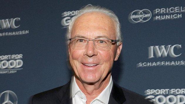 Někdejší německý fotbalista a funkcionář Franz Beckenbauer.