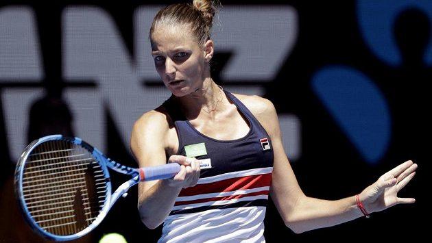 Karolína Plíšková narazí v osmifinále Australian Open na další krajanku.