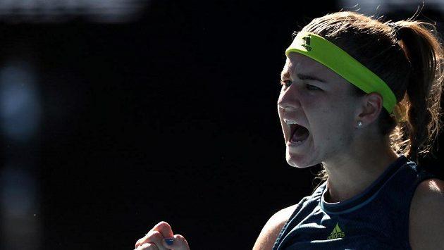 Karolína Muchová bojovala až do posledního míčku. Do finále Australian open se ale nakonec nedostala.