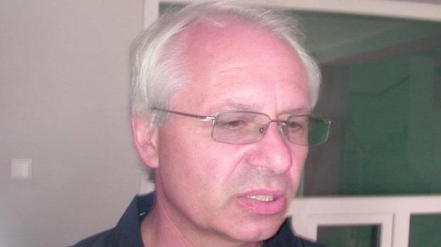Trenér Václav Sýkora