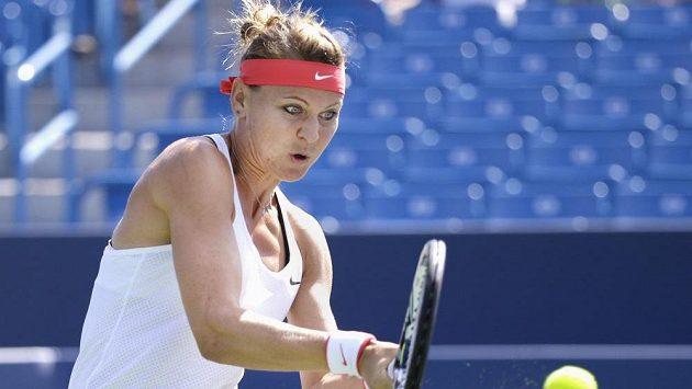 Lucie Šafářová na snímku z předešlého turnaje v Cincinnati.
