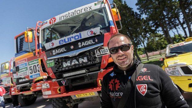 Aleš Loprais jede letošní ročník jihoamerického Dakaru s kamiónem MAN.