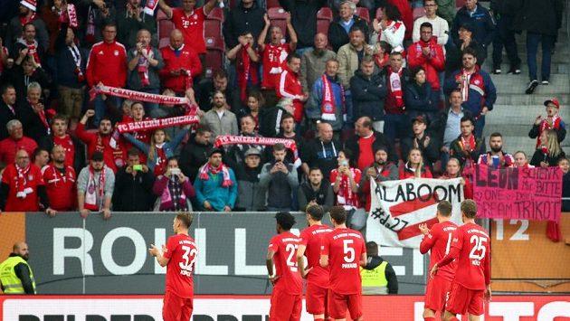 Fanoušci Bayernu. Ilustrační foto.