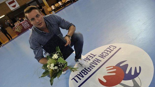 Filip Jícha byl v Brně při kvalifikačním utkání s Francií vyhlášen nejlepším domácím házenkářem sezóny.