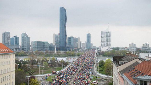 Vienna City Marathon je největší závod u našich rakouských sousedů.