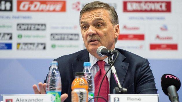 Švýcar René Fasel povede i nadále Mezinárodní hokejovou federaci.