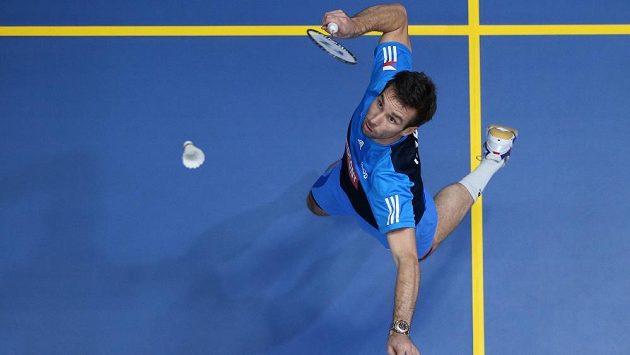 Badmintonista Petr Koukal už vyhlíží start na své třetí olympiádě.