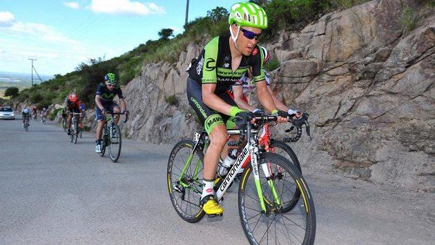 Americký cyklista Tom Danielson.