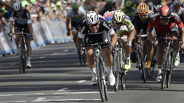 Mark Cavendish ve spurtech obvykle kraluje.
