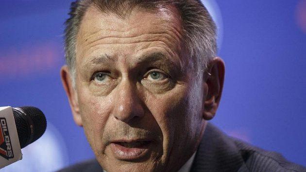 Nový generální manažer Edmontonu Ken Holland.