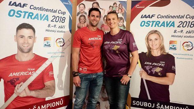 Jan Kudlička je spolu s nastávající maminkou Barborou Špotákovou jedním z patronů Kontinentálního poháru.