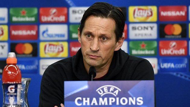 Odvolaný kouč Leverkusenu Roger Schmidt.