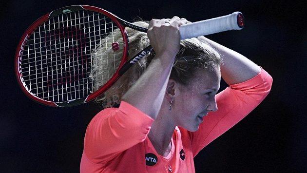 Tenistka Kateřina Siniaková - ilustrační foto.