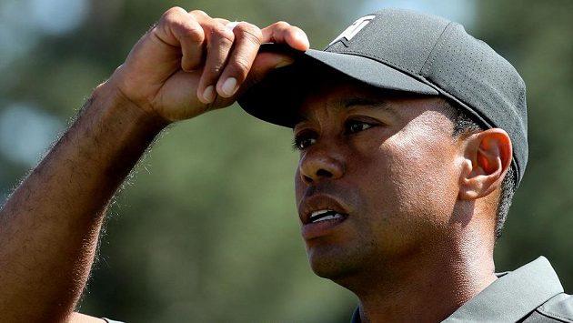 Tiger Woods v Augustě.