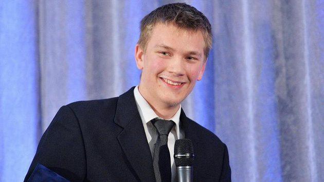 Litvínovský hokejový brankář Patrik Spěšný obdržel hlavní cenu Českého klubu fair play za rok 2014.
