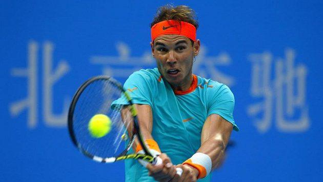 Rafael Nadal bude hrát v Šanghaji navzdory zánětu slepého střeva.
