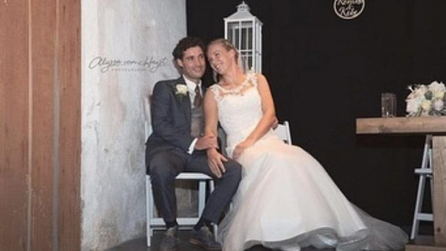 Kiki Bertensová se vdala.