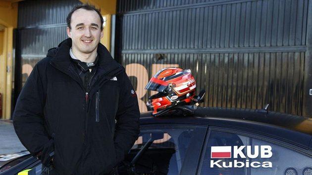 Robert Kubica při testech DTM.
