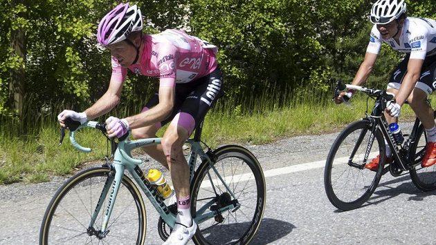 Nizozemský cyklista Steven Kruijswijk na letošním Giru.