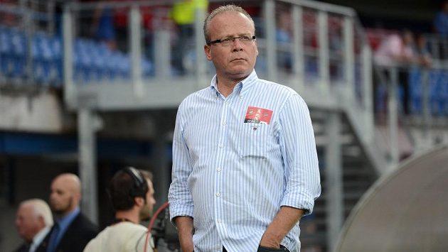 Sportovní ředitel Viktorie Plzeň František Mysliveček během utkání 3. předkola Ligy mistrů mezi FC Viktoria Plzeň a JK Nomme Kalju