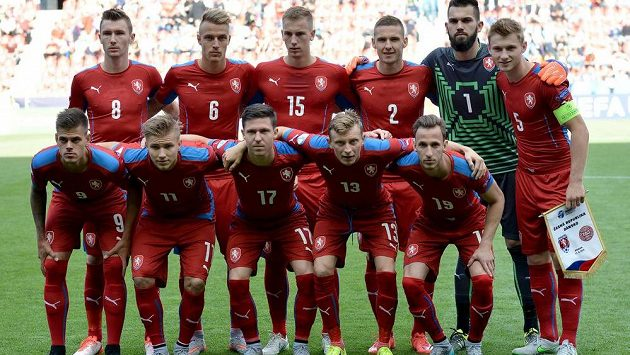 Česká reprezentace do 21 let na EURO 2015.