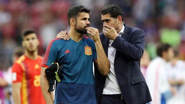 """Je v pohodě?"" ptal se Diega Costy kouč Fernando Hierro na Kokeho."