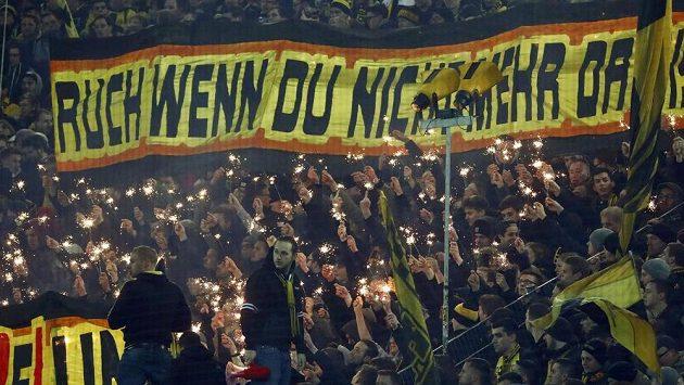 Příznivci Borussie Dortmund - ilustrační foto.