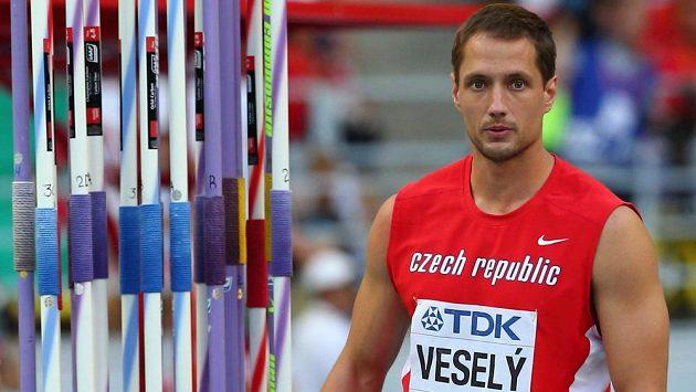 Oštěpařský mistr světa Vítězslav Veselý.