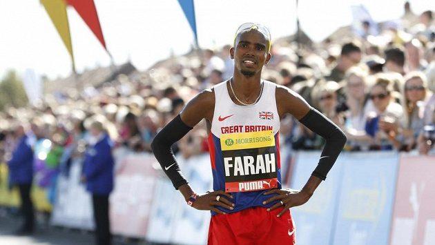 Britský vytrvalec Mo Farah.