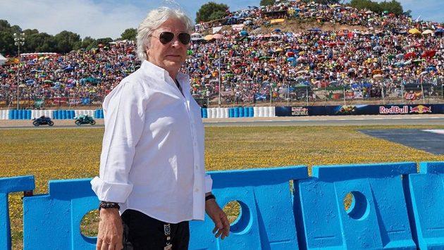 Ángel Nieto v Jerezu na snímku z letočního května.
