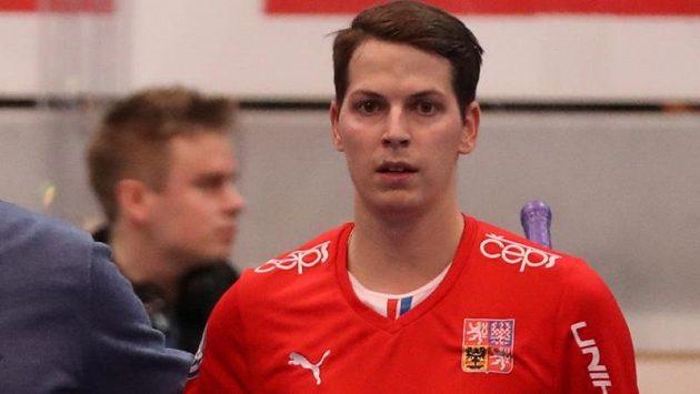 Český florbalový reprezentant Jan Daniš.
