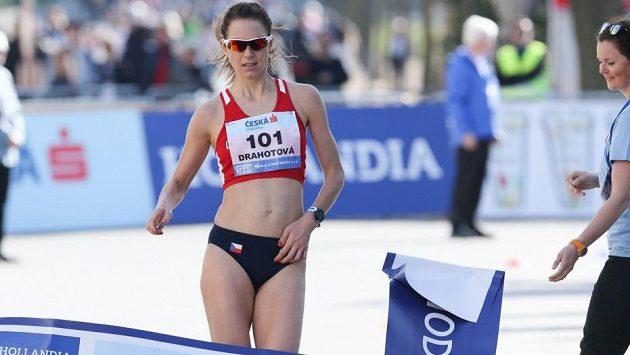 Anežka Drahotová si v Poděbradech došla pro český titul.