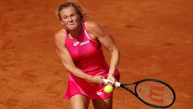 Kateřina Siniaková začala v Římě vítězně.