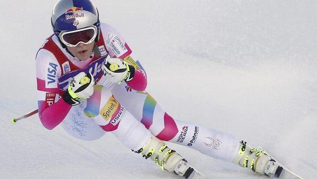 Lindsay Vonnová vyhrála sjezd ve Val d'Isere.