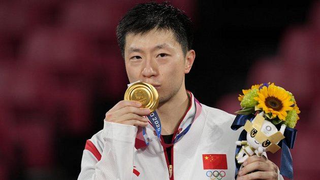 Čínský stolní tenista Ma Lung jako první obhájil olympijské zlato ve dvouhře ve stolním tenise.