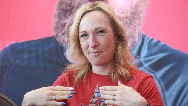 Česká běžkyně Eva Vrabcová.