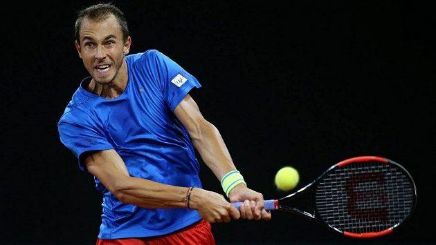Český tenista Lukáš Rosol.