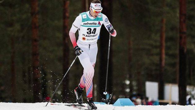 Český běžkař Martin Jakš na archivní fotografii.