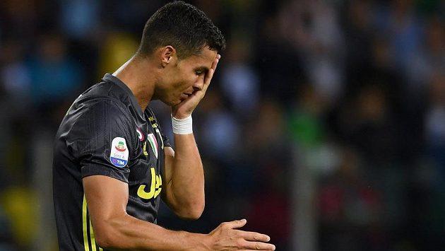 Cristiano Ronaldo zatím na gól za Juventus čeká