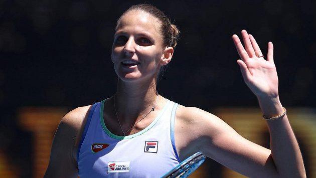 Karolína Plíšková postoupila do druhého kola Australian Open