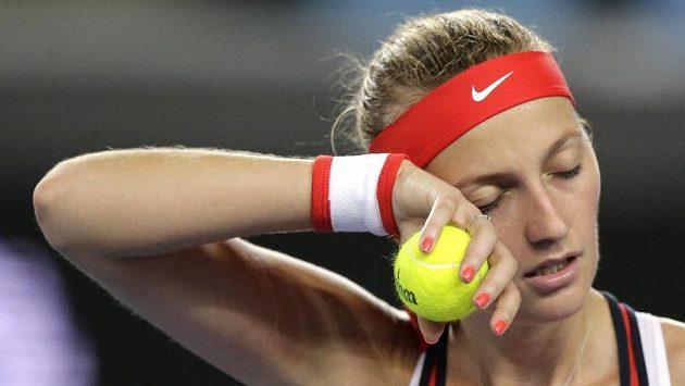 Petra Kvitová ve 2. kole Australian Open.
